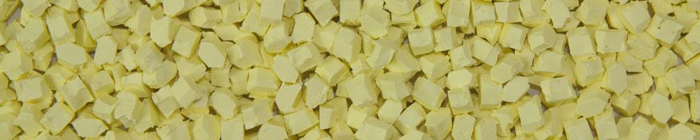 Aurora Plastics Yellow Pellets