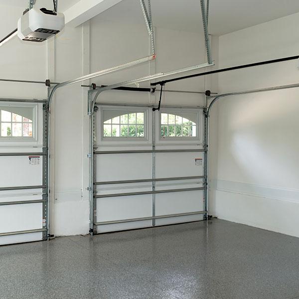 aurora plastics garage wall trim
