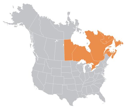 canada location north america
