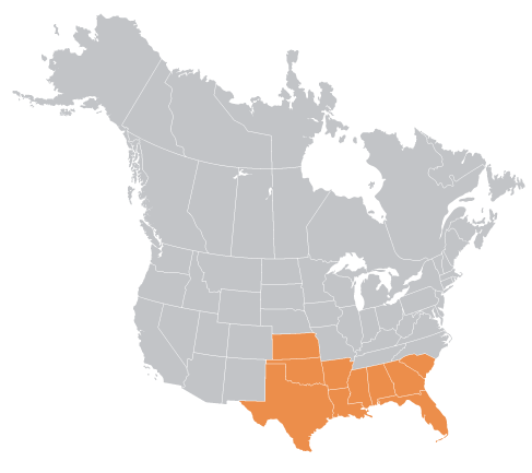 southern north america