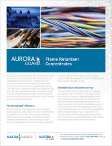 Aurora Plastics Flame Retardant Concentrates