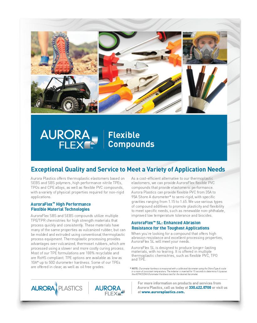 Aurora Plastics Flexible Compounds